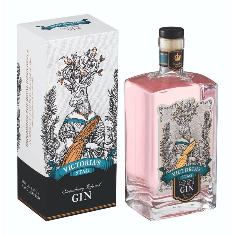 750ml Small Batch Strawberry Gin