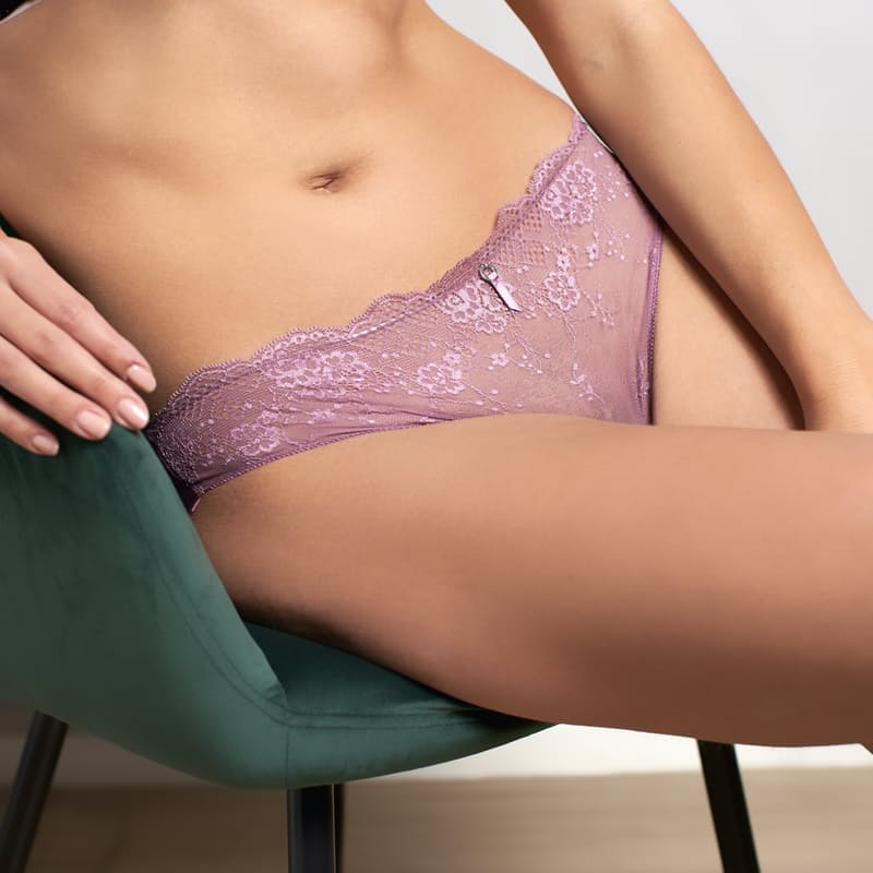 Pack of 2 Ladies Lace Brazilian Bottoms