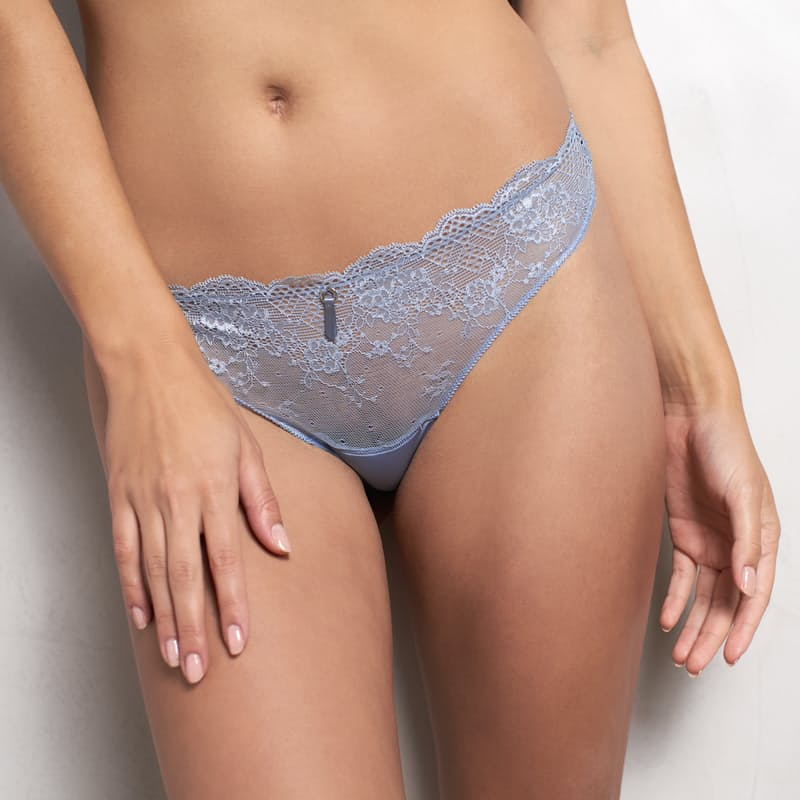 Pack of 2 Ladies Lace G-String Bottoms
