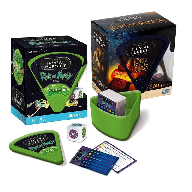 600 Question Game Set