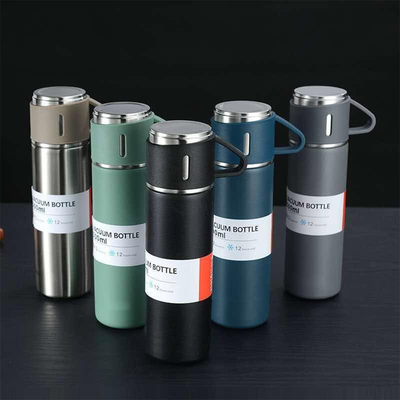 500ml Stainless Steel Insulated Hot and Cold Flask with Cup