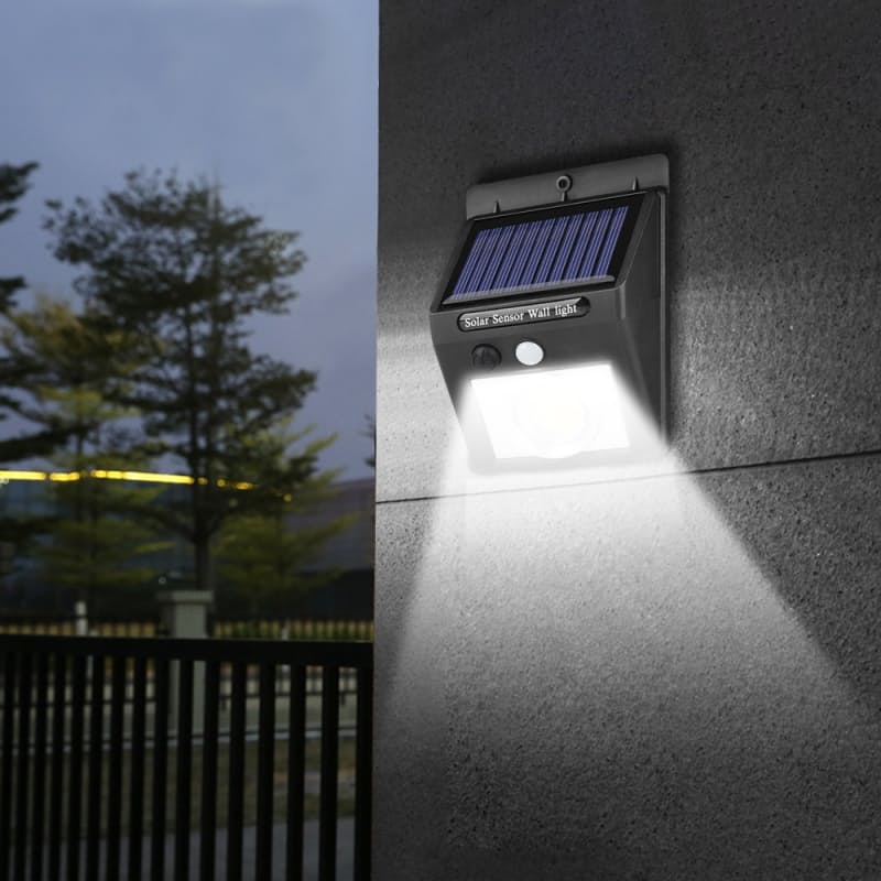 Pack of 2 or 4 PIR Motion and Night Sensor LED COB Wall Lights