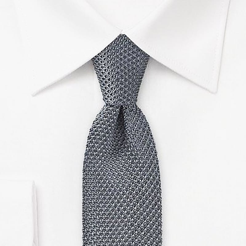 Dapper Knitted Skinny Ties