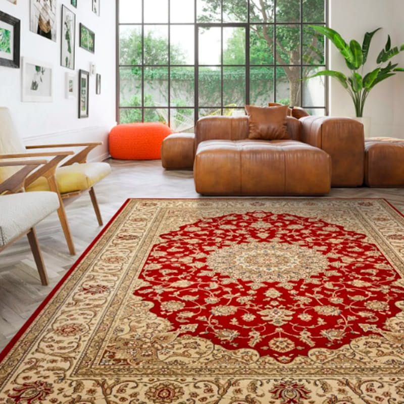 Medallion Kirman Rug (More Sizes Available)