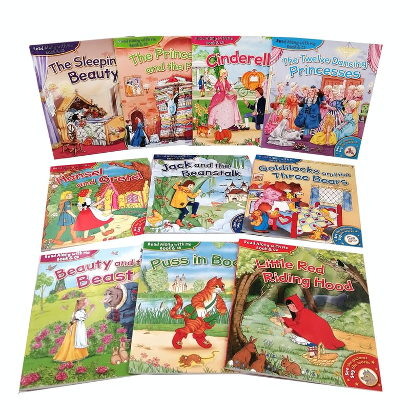 Children's Classic Fairytale Collection (10 Books with Audio CDs)
