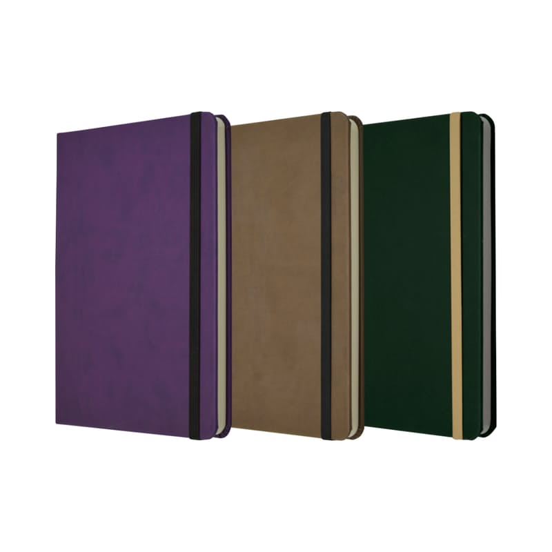 A5 Hard Cover Lined Eco Notebook