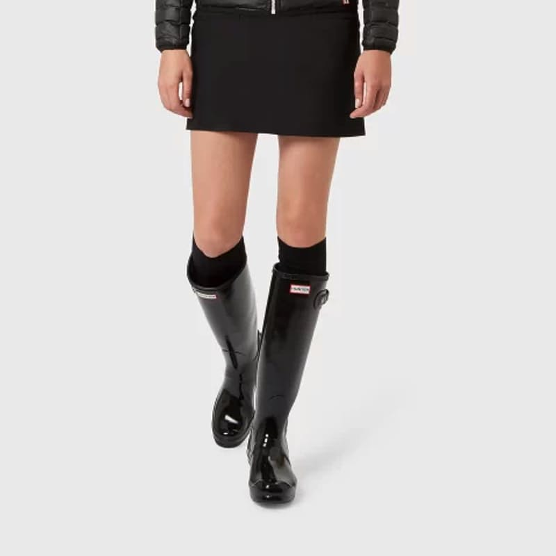 Ladies Original Tall Gloss Black Boot