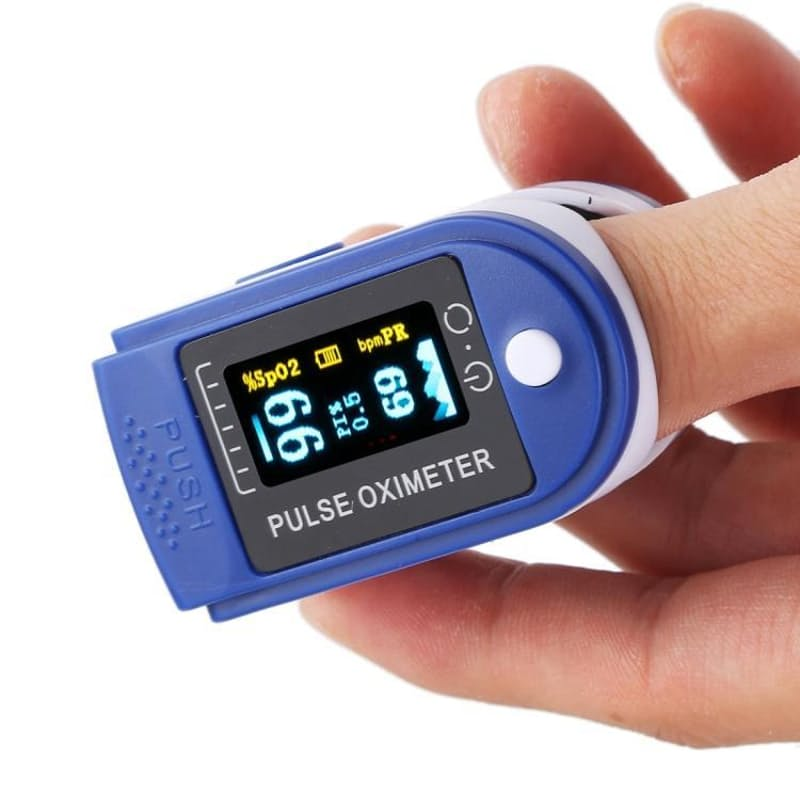 Digital Oximeter Fingertip Oxygen Saturation and Pulse Monitor