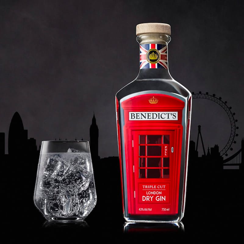 750ml Triple Cut London Dry Gin