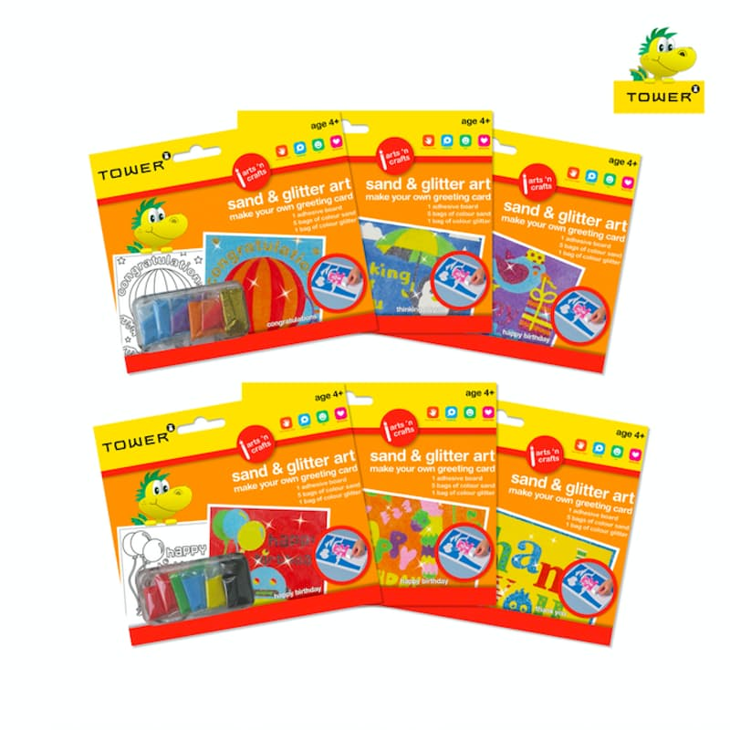 Pack of 6 Make Your Own Greeting Card Bundle