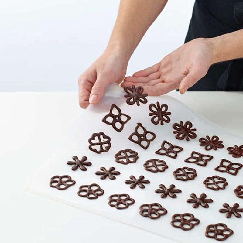 Chocolate Decoration Stencil Kit with Decopen