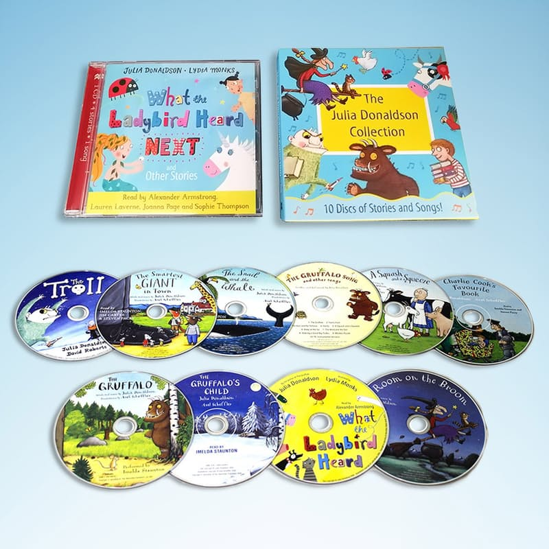Stories and Songs Audio Collection (11 Discs)