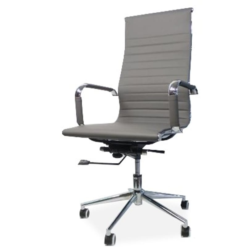 Eames-Style High Slim Back Office Chair with Gas Height Adjustment (Demo Stock)