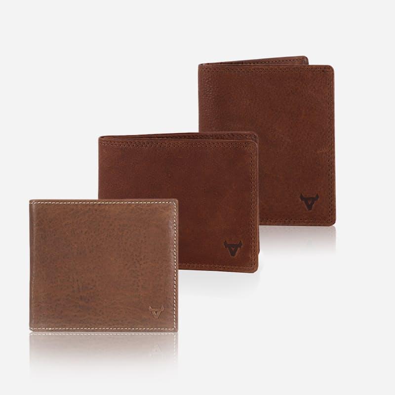 Genuine Leather RFID Billfold Wallet