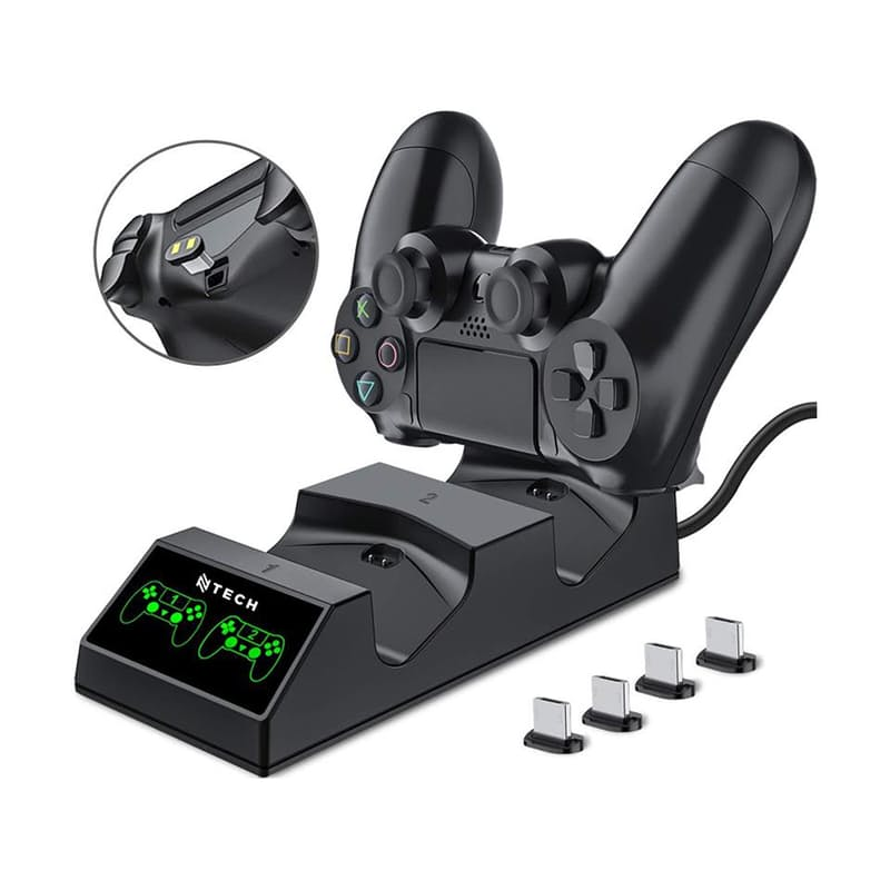 PS4 Dual Controller Wireless Charging Dock