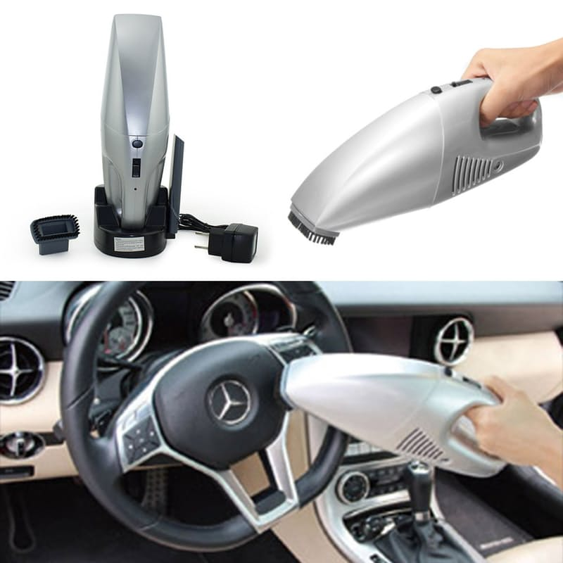 Portable Handheld Vacuum Cleaner with Attachments