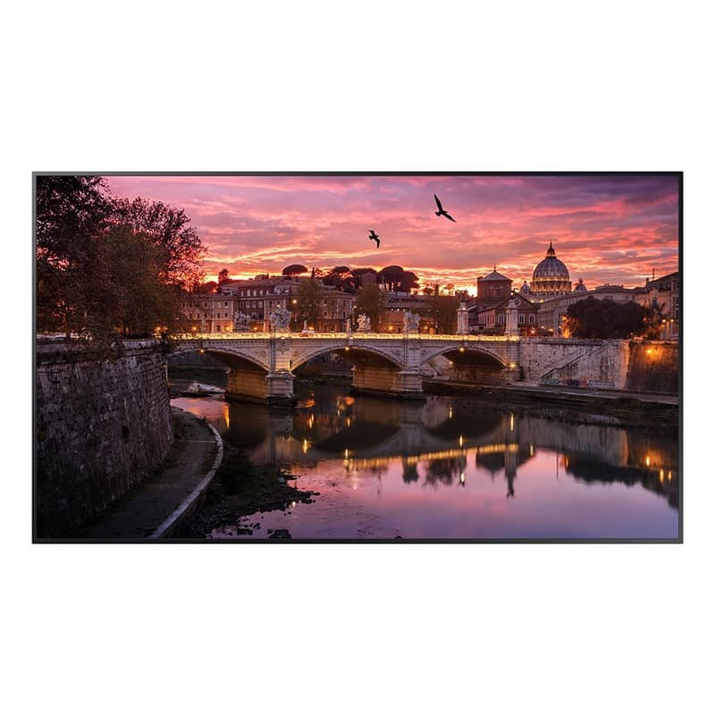 "75"" Commercial Edge-Lit 4K UHD LED Display (Model: QB75R)"