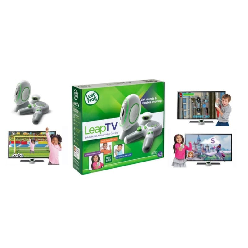 LeapTV Educational Console with Extra controller and 5 Games