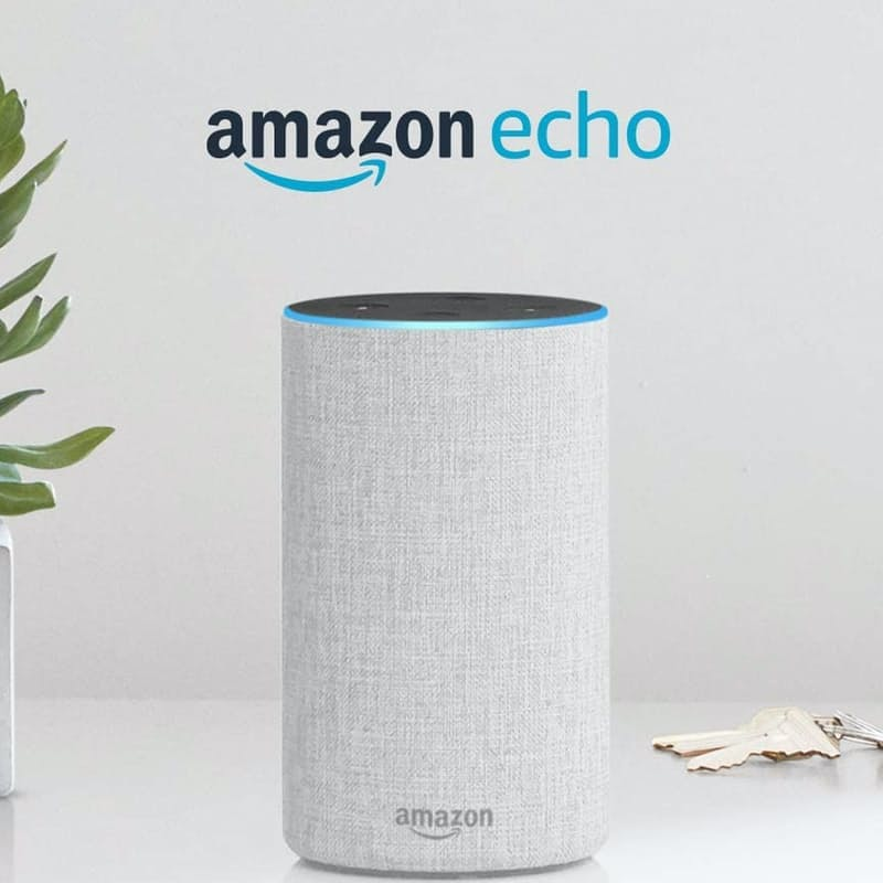 Echo 2nd Generation Smart Home Speaker with Alexa