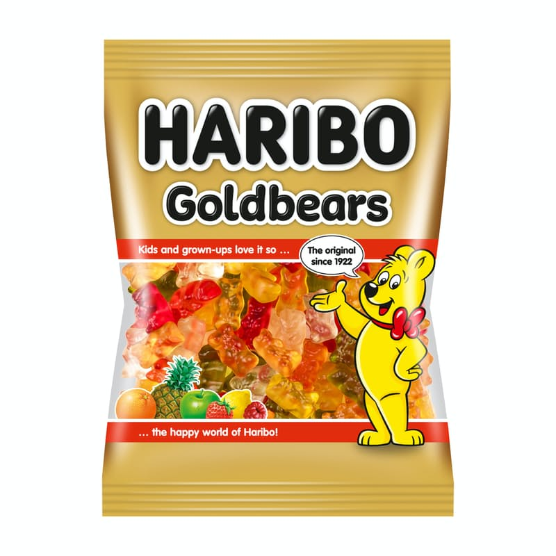 Pack of 30 80g Fruit Flavoured Gummy Bears