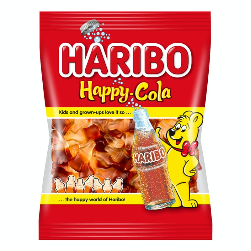 Pack of 30 80g Cola Flavoured Gummy Bears