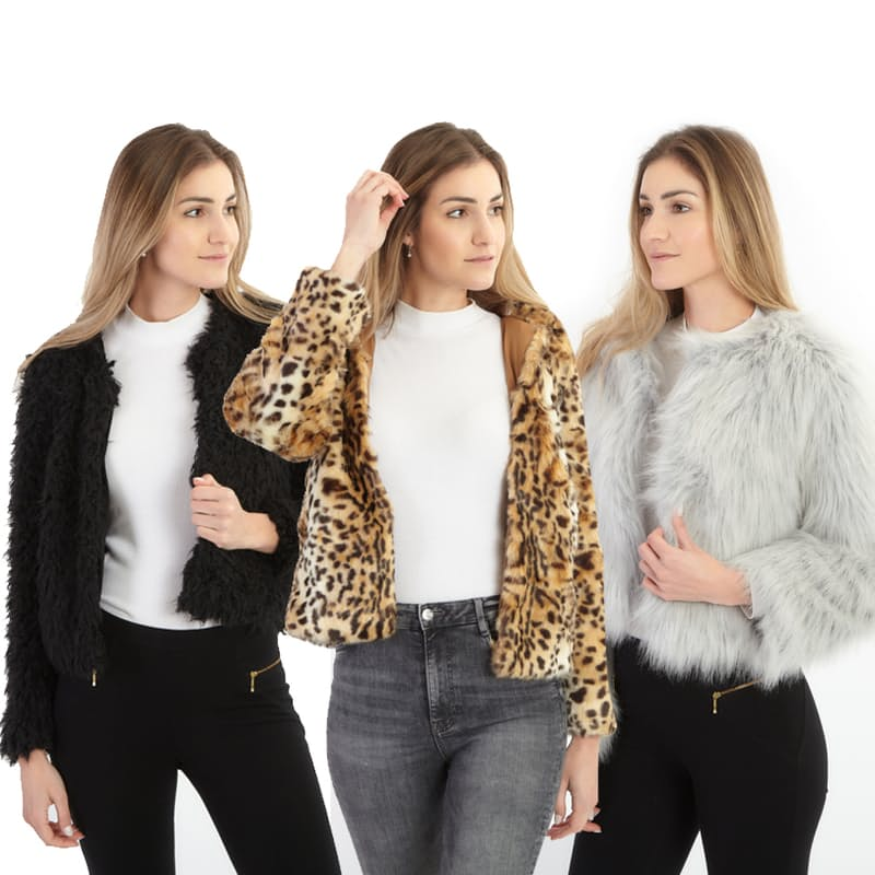 Faux Fur Winter Jackets