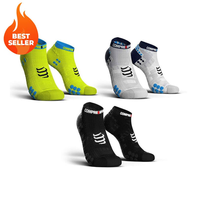 Pro Racing V3 Run Low Compression Socks