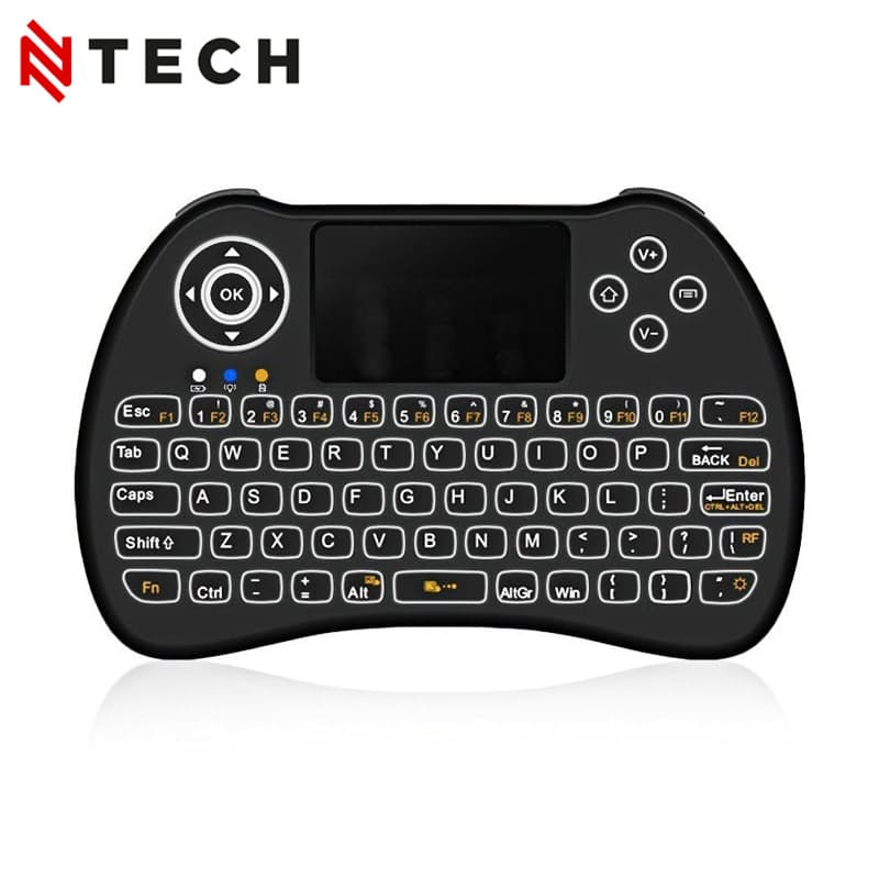 H9+ Mini Backlit Keyboard