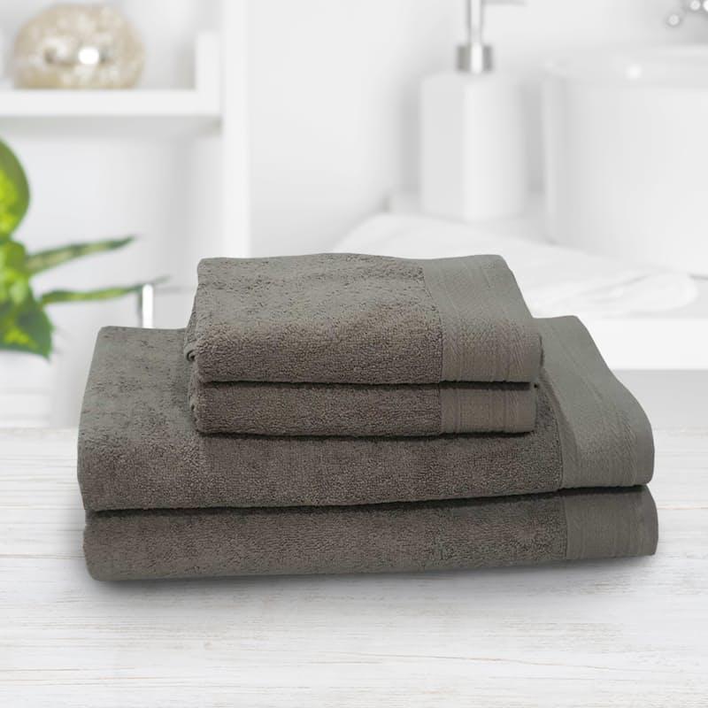 Set of 4 450gsm Hand Towels & Bath Sheets