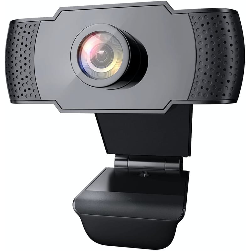 1080P HD Resolution Clip-On Webcam With Microphone (Model: 101JD)