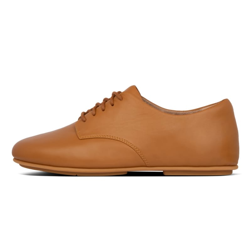 Ladies Adeola Lace-Up Leather Derby's