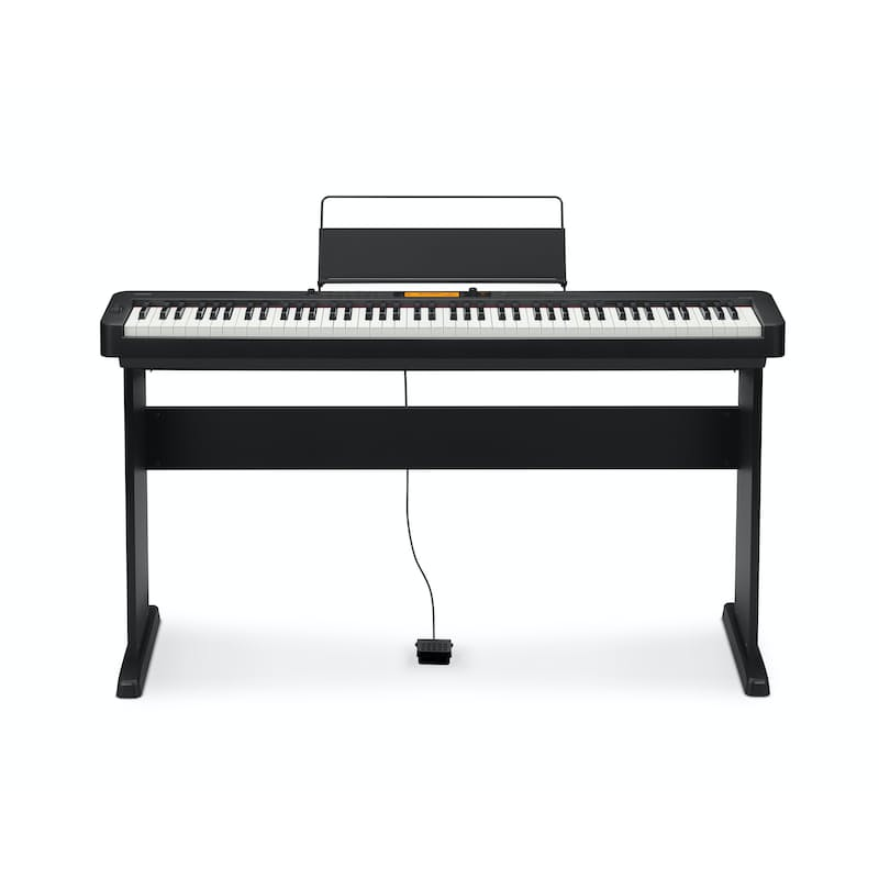 88 Key Digital Piano Including Wooden Stand (Model:  CDP-S350BKC2)