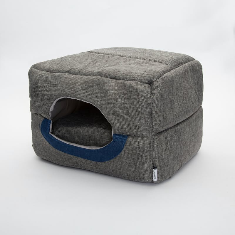 2-in-1 Dome Pet Bed with Cushion
