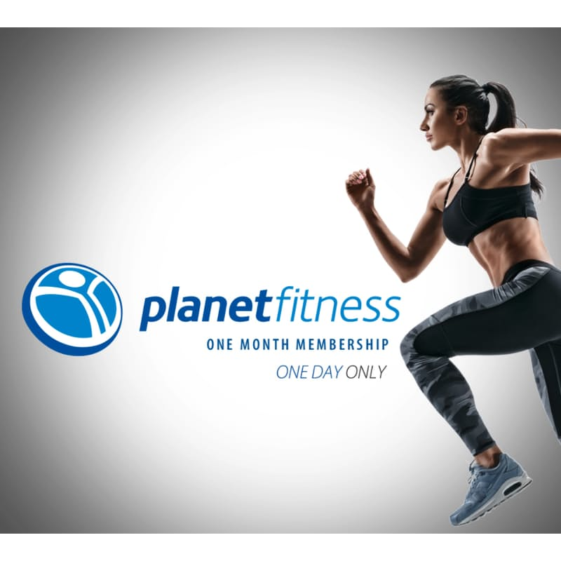 1-Month Membership to Any Planet Fitness Club Nationwide