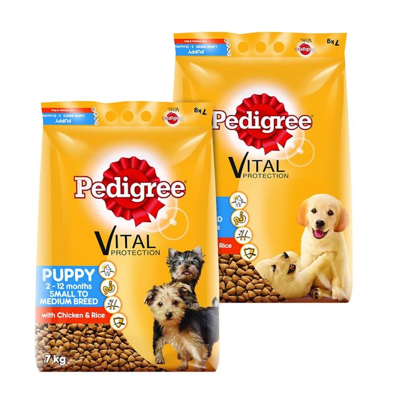 7kg Puppy Chicken & Rice Dry Dog Food