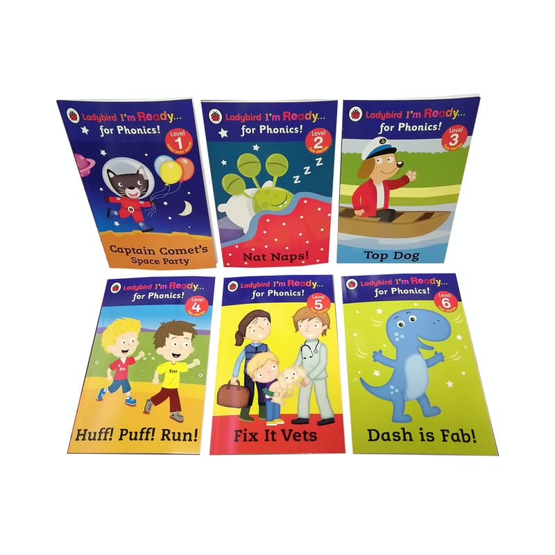 I'm Ready… for Phonics! Levels 1 - 12 (12 Books)