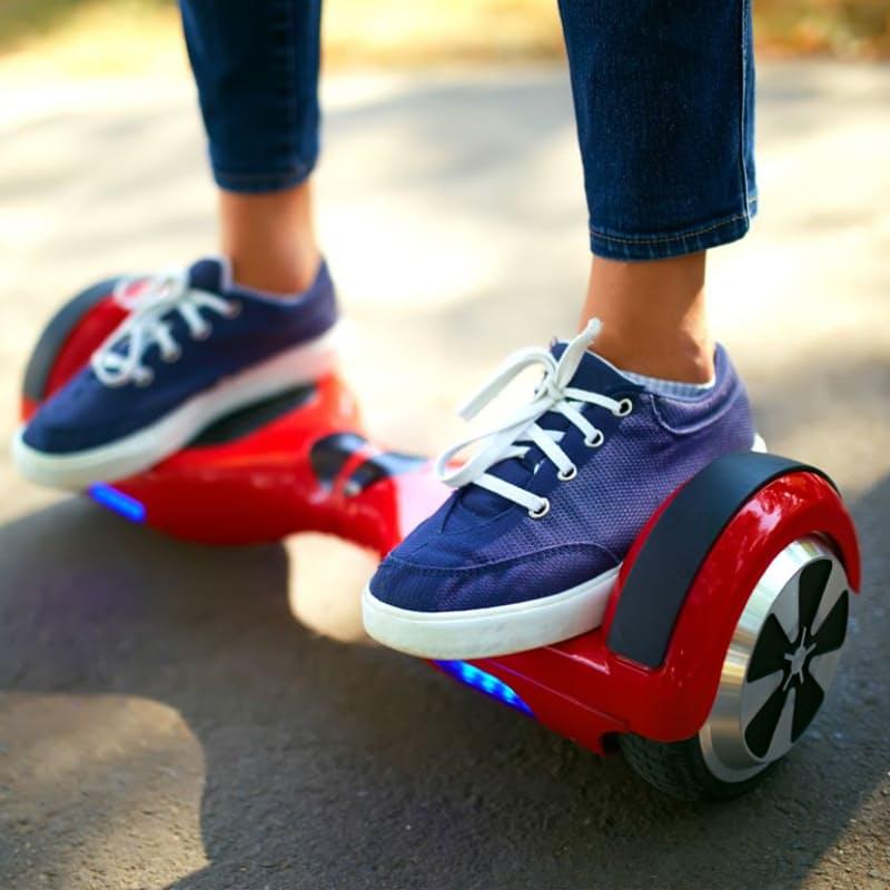 Self-Balancing Motorised Scooter with Big Wheels