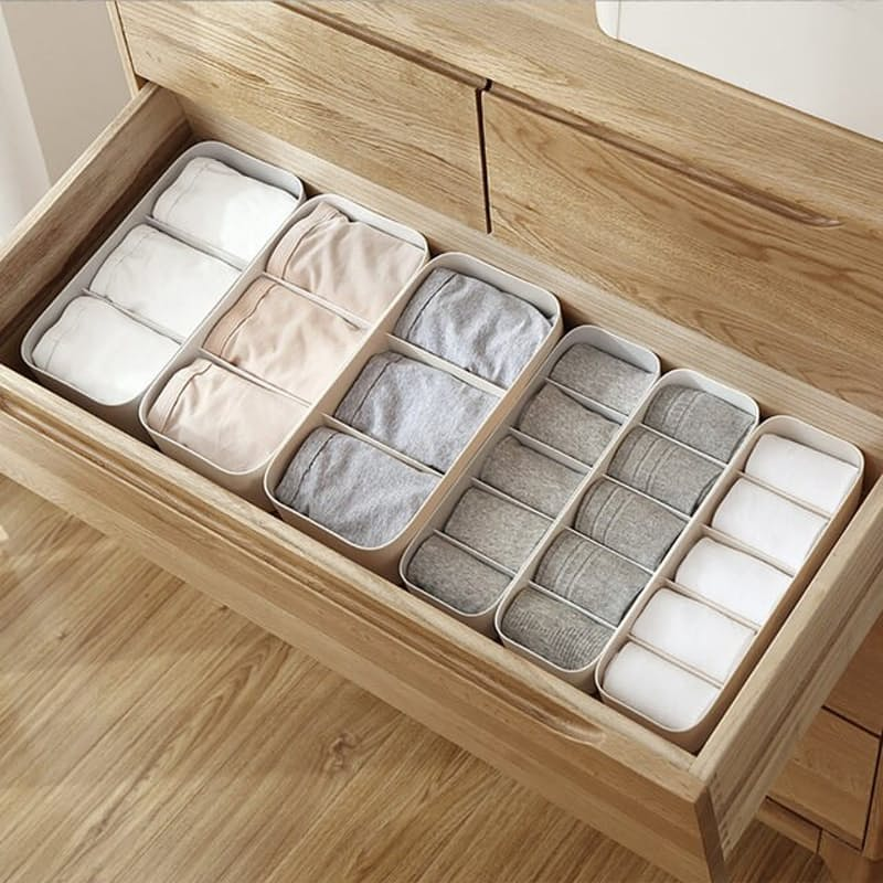 Set of 4 Multi-Functional Drawer and Cosmetic Organisers