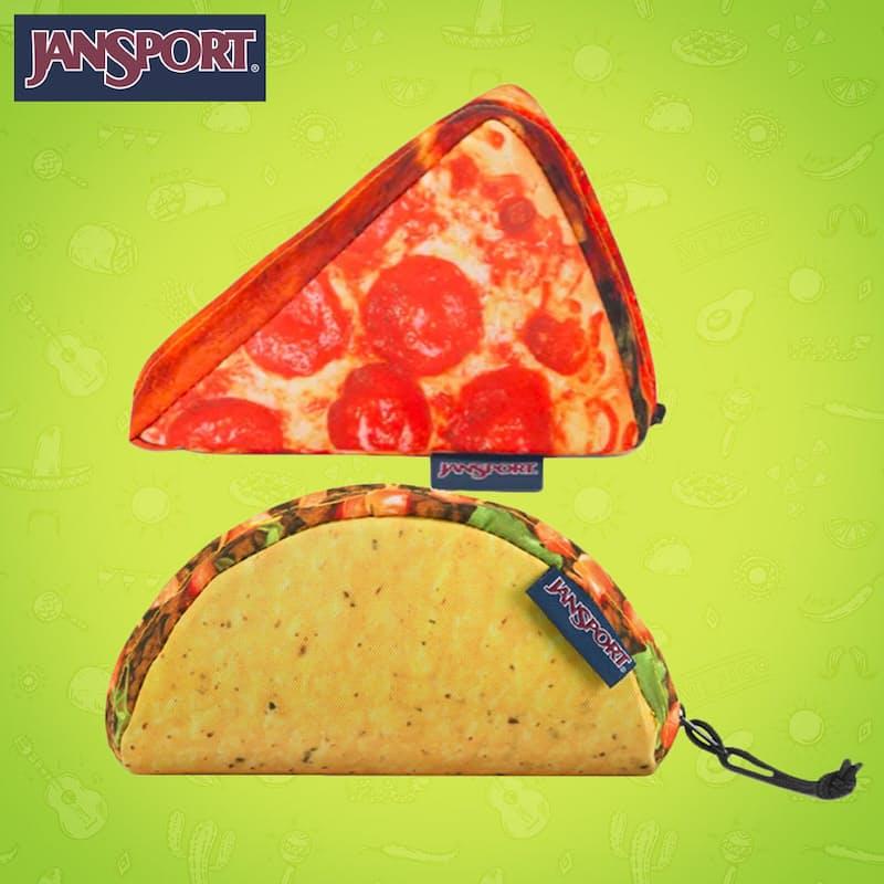 Taco or Pizza  Accessory Pouch