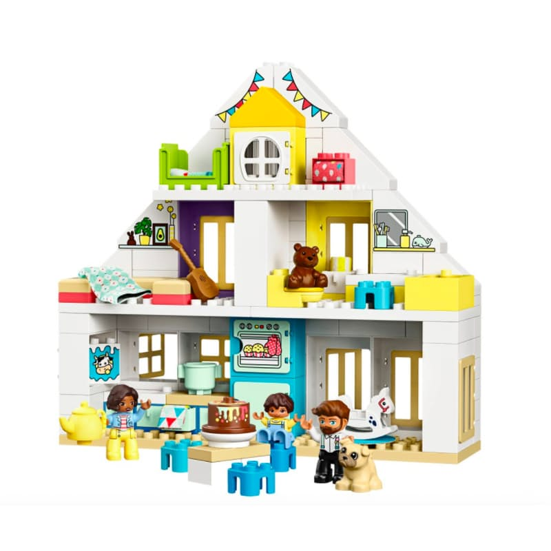129-Piece Duplo Modular Playhouse