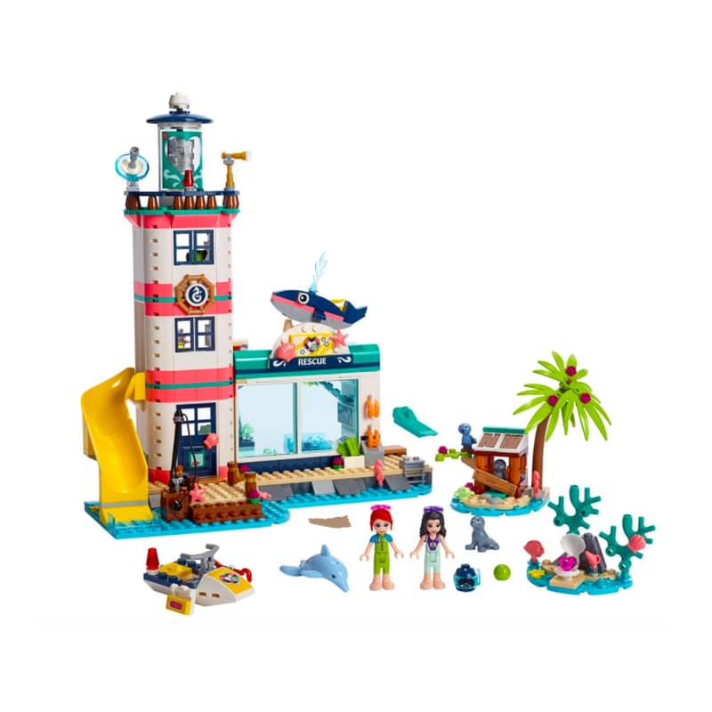 602-Piece Friends Lighthouse Rescue Center