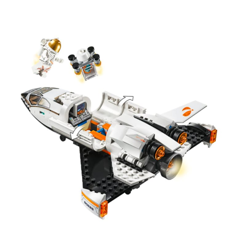 273-Piece City Mars Research Shuttle