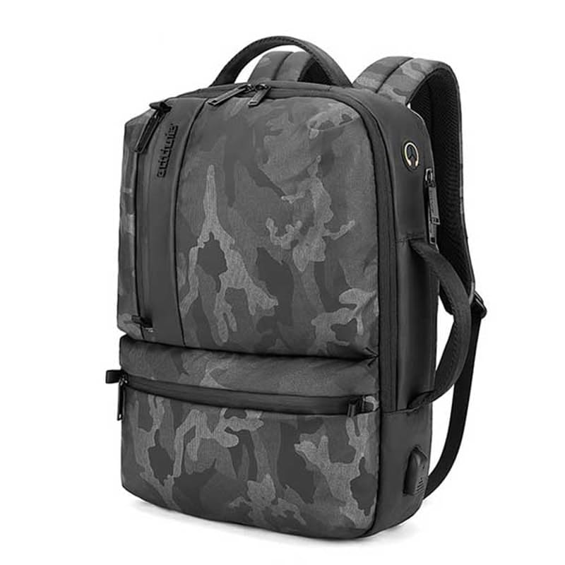 NightHawk Casual Traveler Multi-Functional Backpack and Laptop Bag