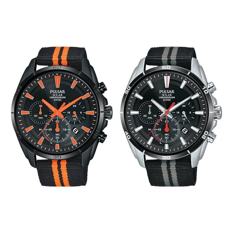 Men's Solar Chronograph Watch