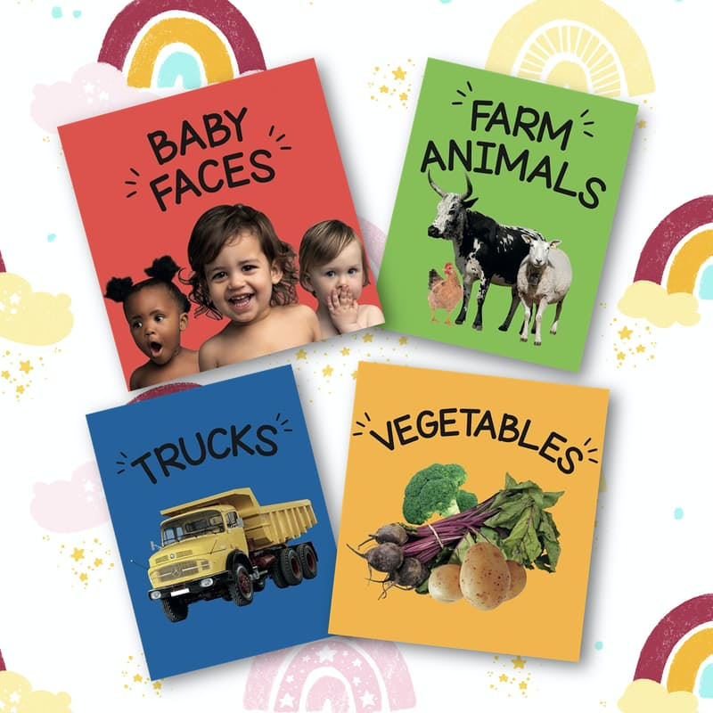 Vibrant and Uniquely South African Board Books for Toddlers (4 Books)