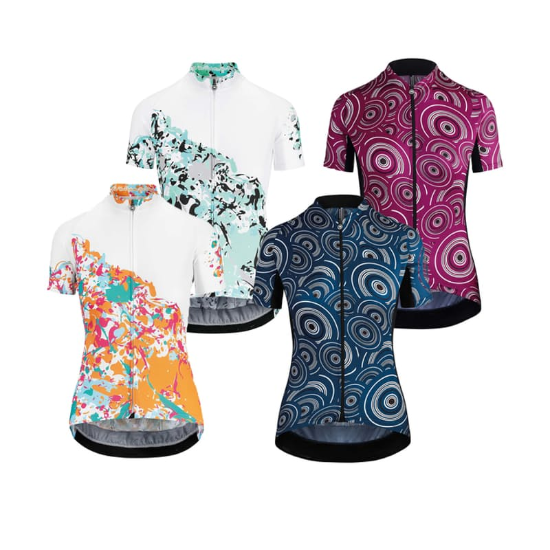 Ladies Trendy Short Sleeve Cycling Jersey