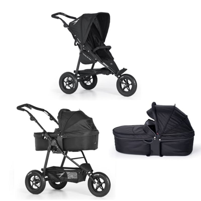 Lightweight Jogging Stroller, Carry Cot and Cover Set