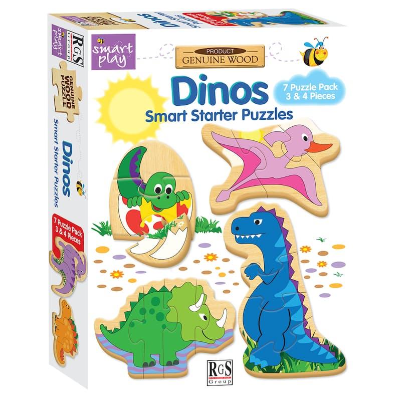 Set of 2 Children's Educational Smart Starter Puzzles