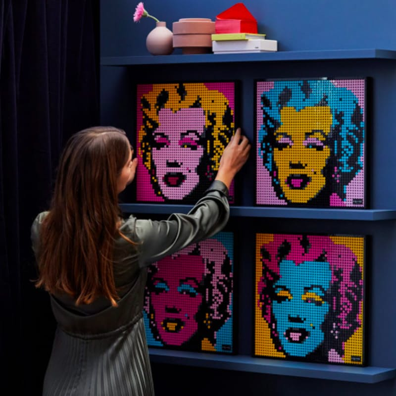 3341-Piece Andy Warhol's Marilyn Monroe Wall Art