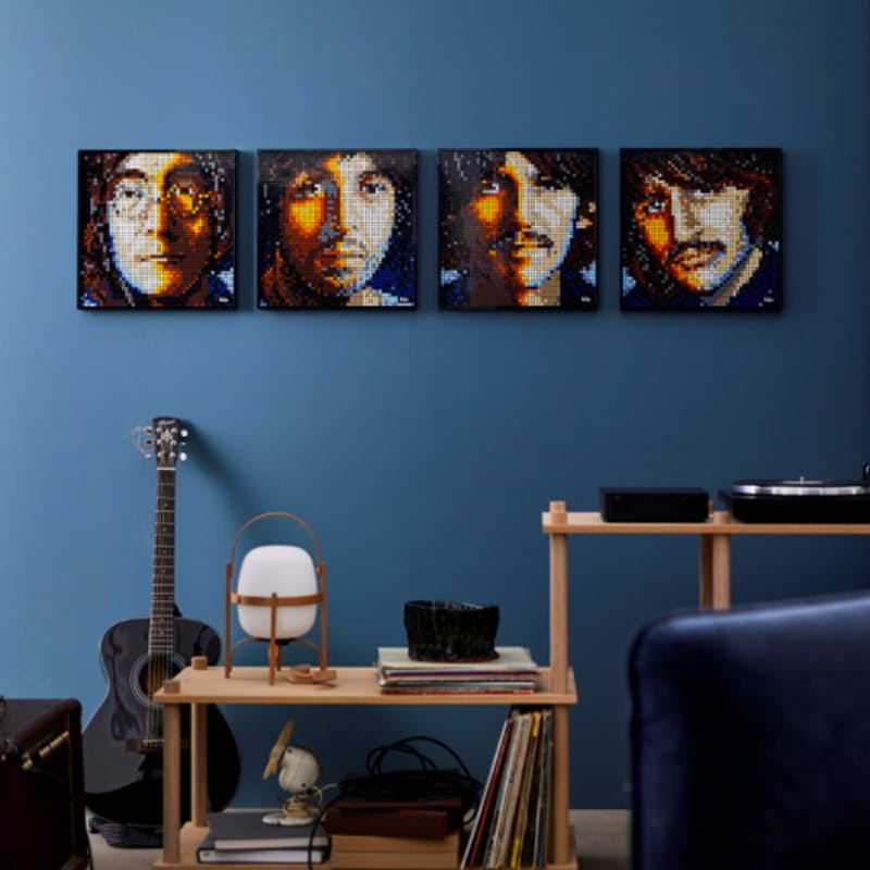 2933-Piece The Beatles Wall Art